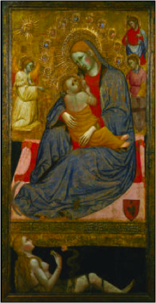 The Madonna of Humility with the Temptation of Eve