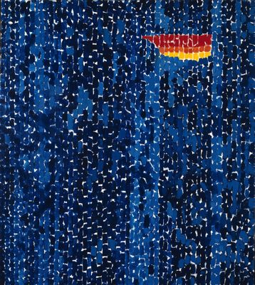 Alma Thomas, Starry Night and the Astronauts, 1972