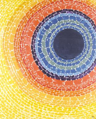 Alma Thomas, The Eclipse, 1970
