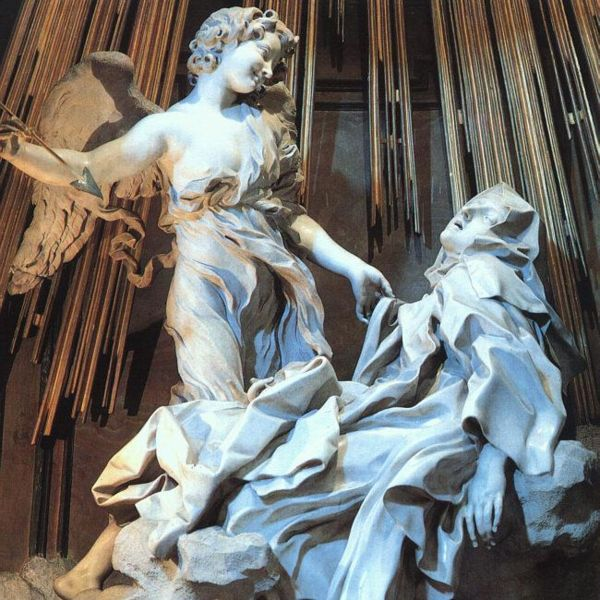 Bernini, Ecstasy of Saint Teresa, 1647-52.