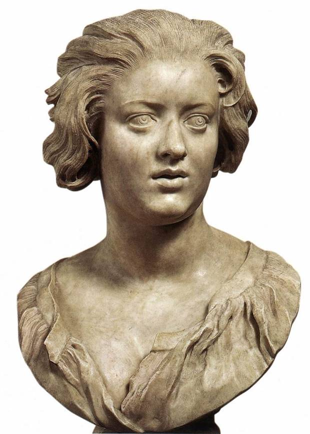 Bernini, Portrait of Costanza Piccolomini, 1636-37