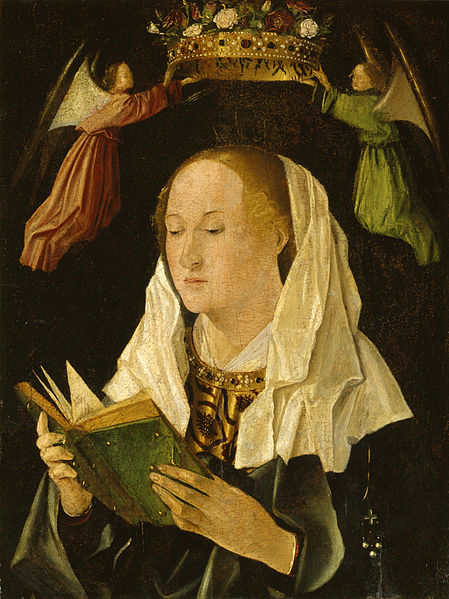 Antonello da Messina, The Virgin Mary Reading