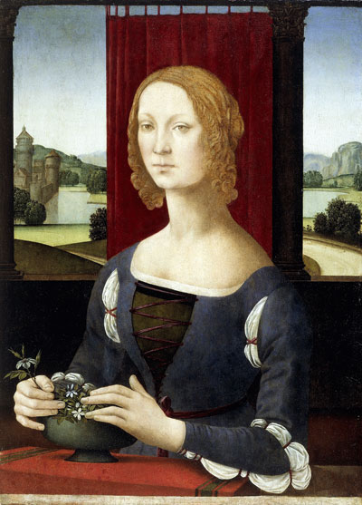 Lorenzi di Credi, Portrait of a Young Woman