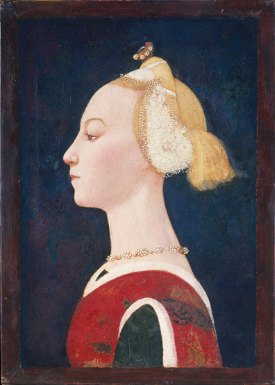 Master of the Castello Nativity, Portrait of a Woman, 1450s