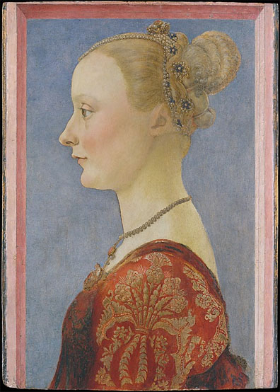 Piero del Pollaiuolo, Portrait of a Woman, mid 1470s
