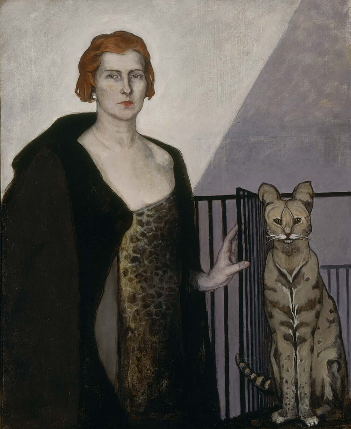 Romaine Brooks, La Baronne Emile D'Erlanger, about 1924