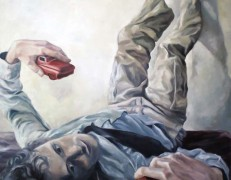 Peter, 2012, oil on canvas, 36″x48″