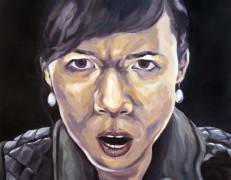 Melissa Huang, Self Portrait, 2013, oil on canvas