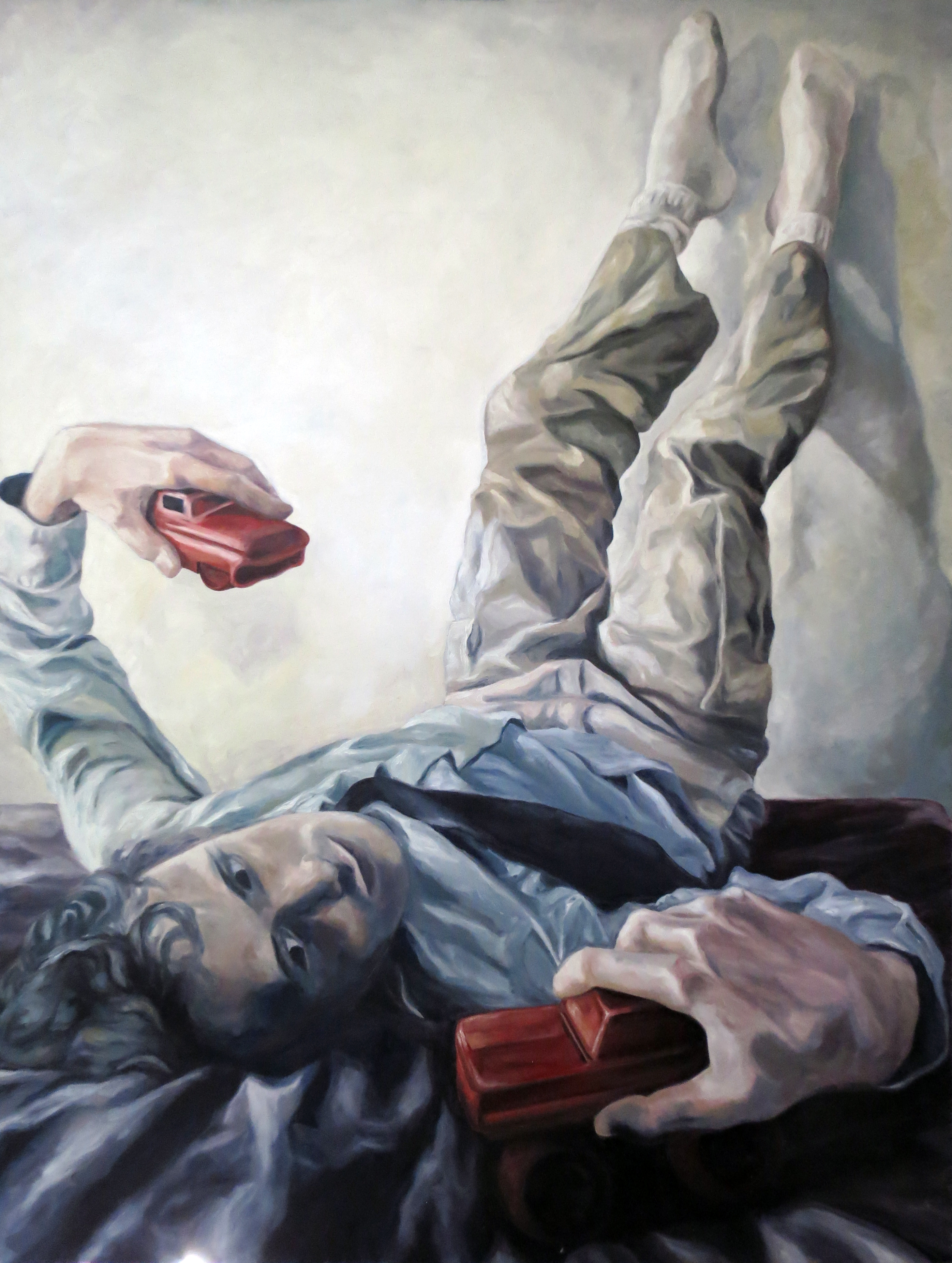 "Peter, 2012, oil on canvas, 36""x48"""