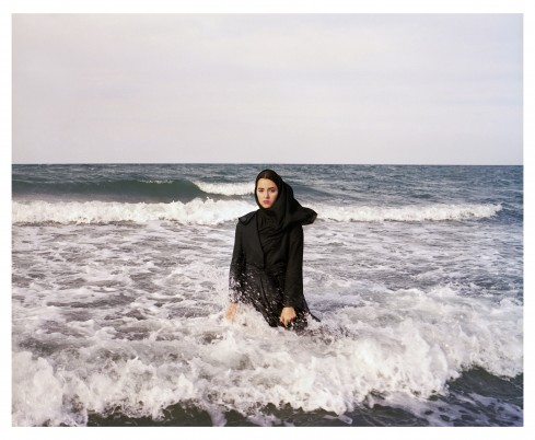 Newsha Tavakolian, Dont Forget This Is Not You (for Sahar Lotfi), 2010. Chromogenic print mounted on aluminum.