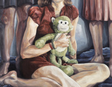"Melissa Huang, Jamie, Oil on canvas, 48"" x 36"", 2012."