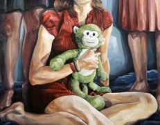 Melissa Huang, Jamie, oil on canvas, 36″x48″