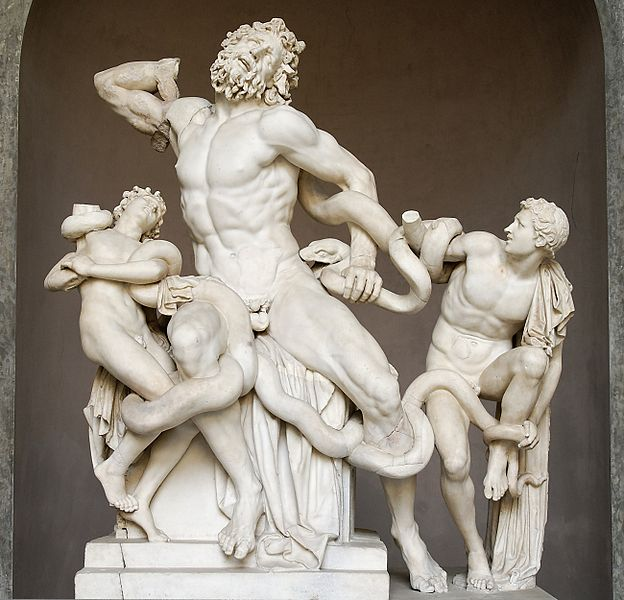 Laocoön and His Sons, c. 25 BC, marble