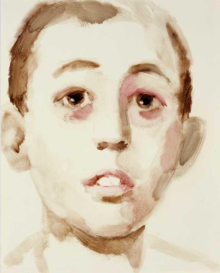 Annie Kevans, Francisco Franco, Spain, 2004, oil on paper, 51 x 41cm