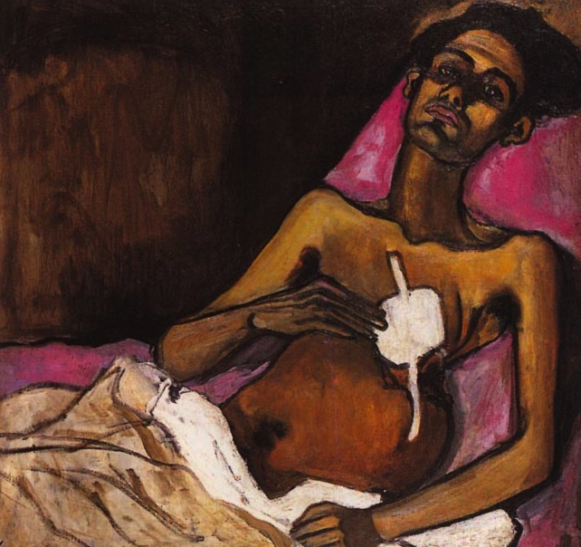 Alice Neel, T.B. Harlem, 1940, oil on canvas, 762 x 762 mm.